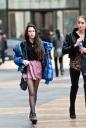 NYFW Street Style | Fluffy Jackets | Women 2012