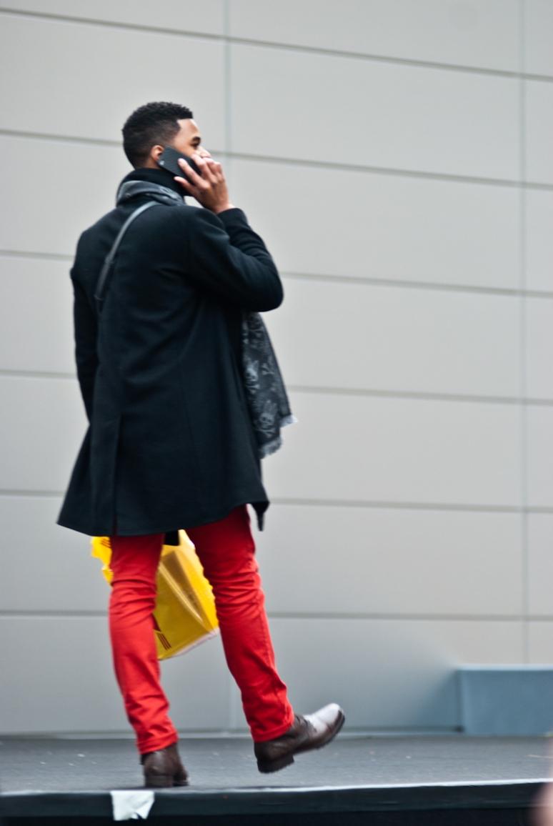 Bright Pants | NYFW 2012 | Men Fashion