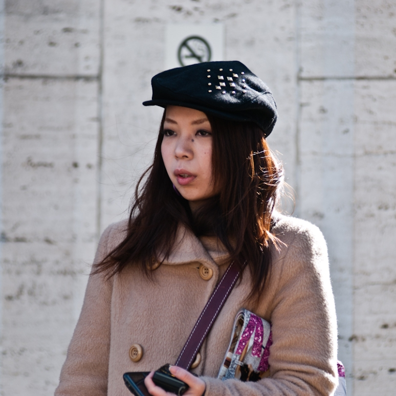 NYFW Street Style | Lincoln Center | Women 2012 | Studded Hat