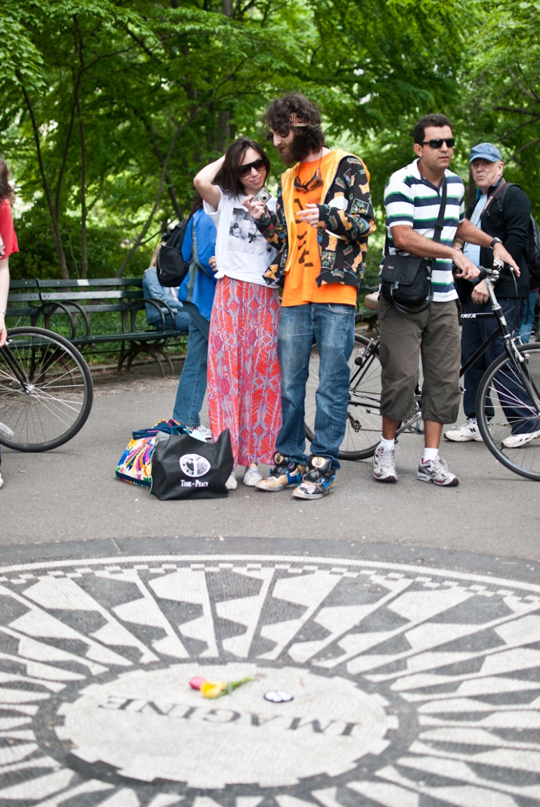 John Lennon & Yono Oko | Strawberry Fields | Central Park