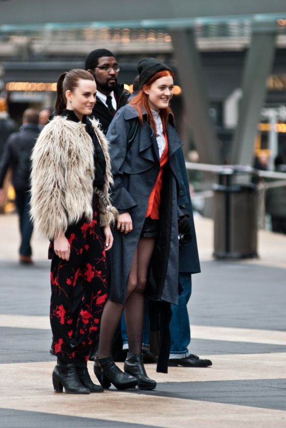 Redhead Women | Street Fashion | New York City 2012