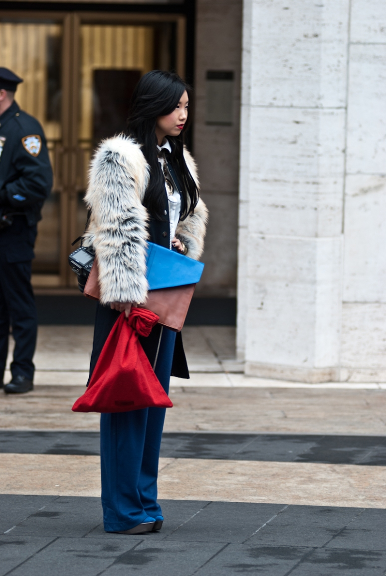 New York Fashion Week | Furry Coats | Women | Lincoln Center Spring 2012