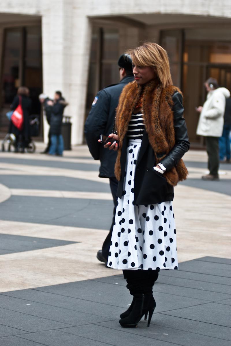 Polka Dots | Dresses Fashion | New York City | Spring 2012