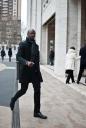 New York Fashion Week | Black Clothes | Street Fashion | Spring 2012