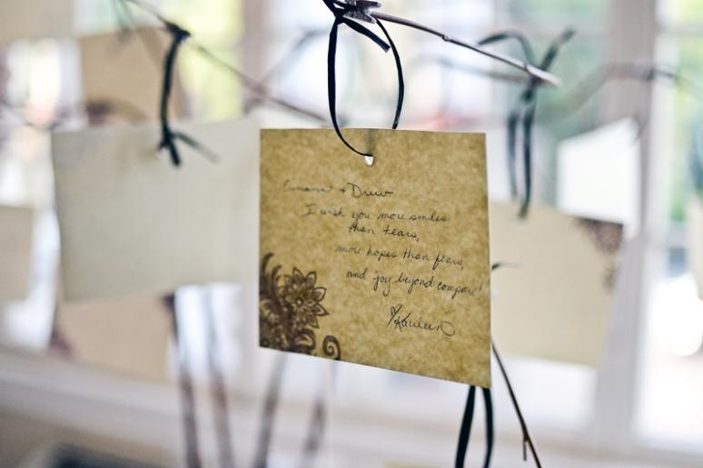Erinann & Drew Phillips | Wedding Details | Wedding Photography | Dinner Details