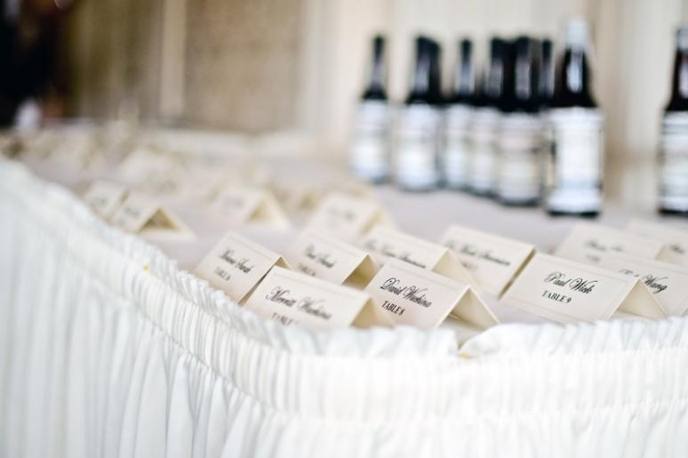 Erinann & Drew Phillips | Wedding Details | Wedding Photography | Namecards