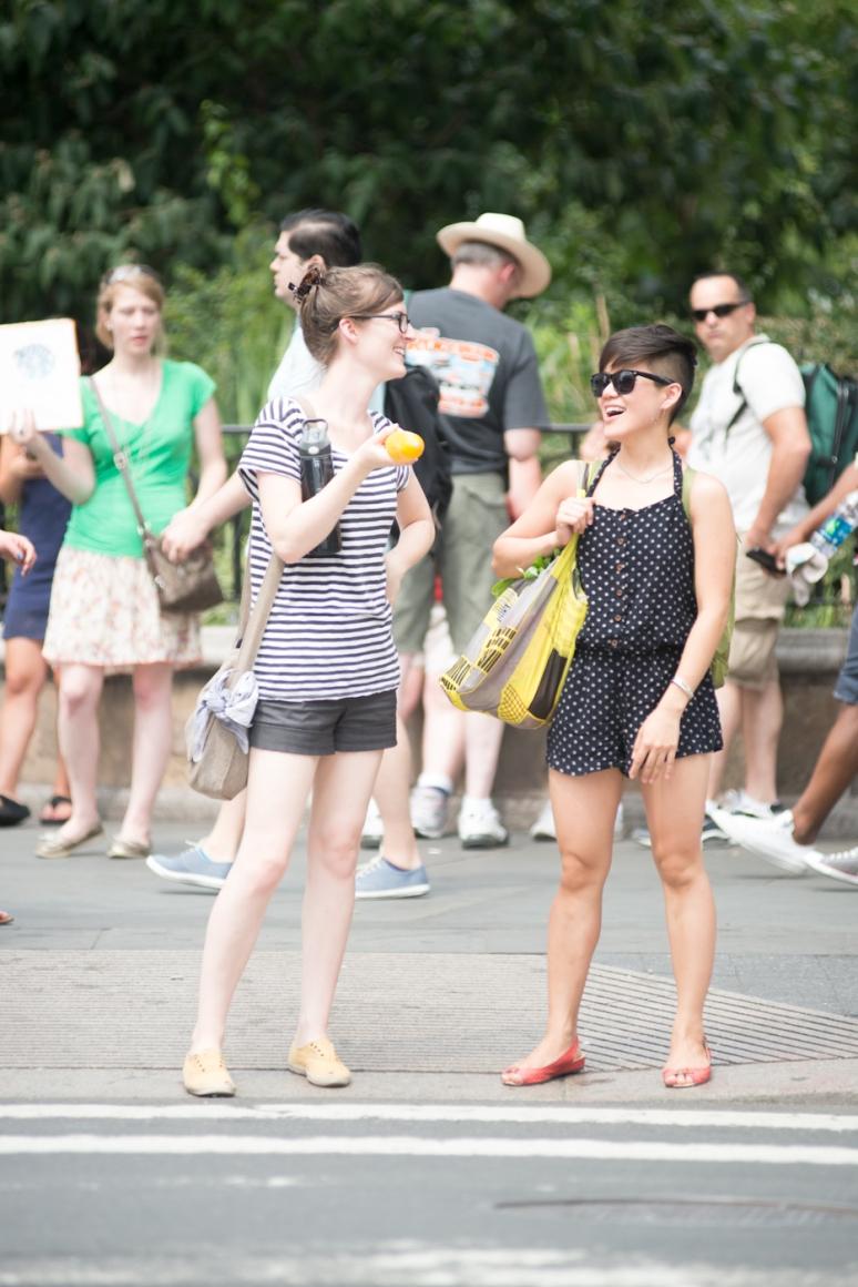 New York Street Style - Women's Fashion - Photography - Union Square