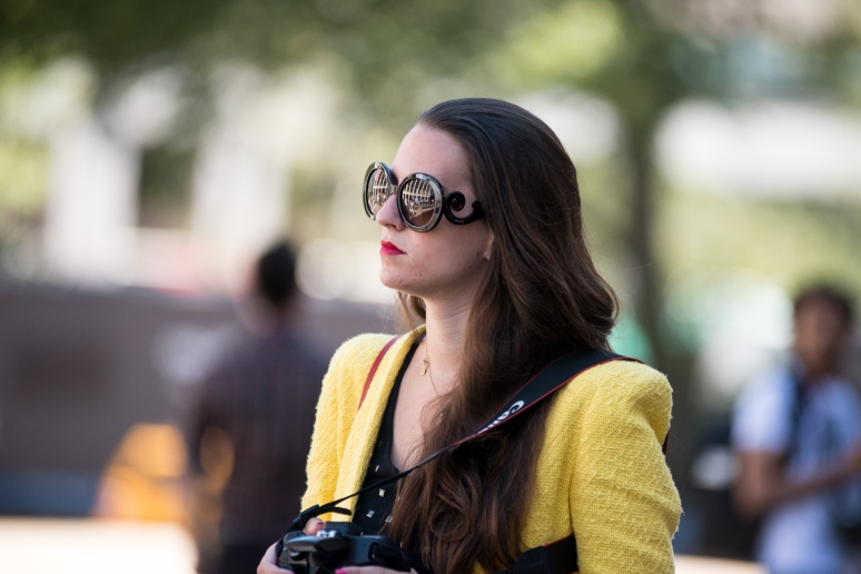 New York Fashion Week | MBFW | Prada Baroque | Street Style