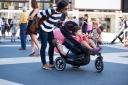 Double Decker Stroller - New York Fashion Week
