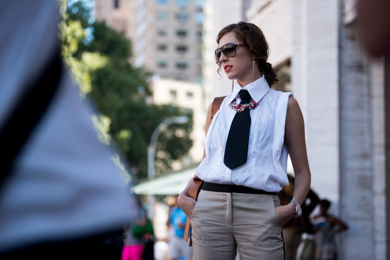 New York Fashion Week | Street Style | Preppy | Women's Fashion | Brandon Stanton | Humans of New York