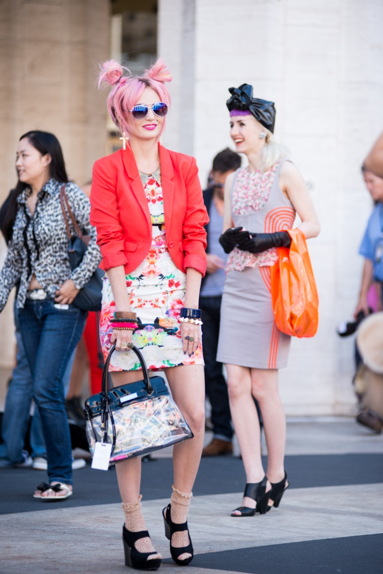 New York Fashion Week Street Style | Neon | Women's Fashion | NYFW