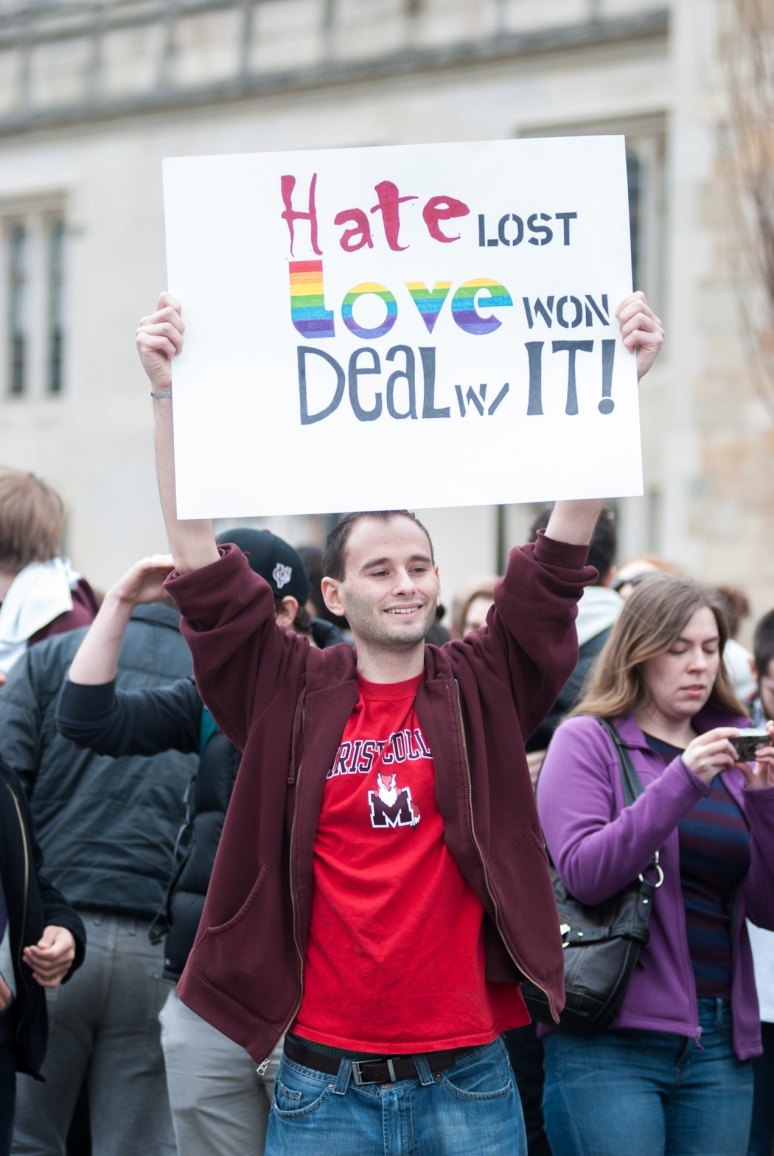 Vassar College | Westboro Baptist Church | Poughkeepsie Protest | Counter Picket
