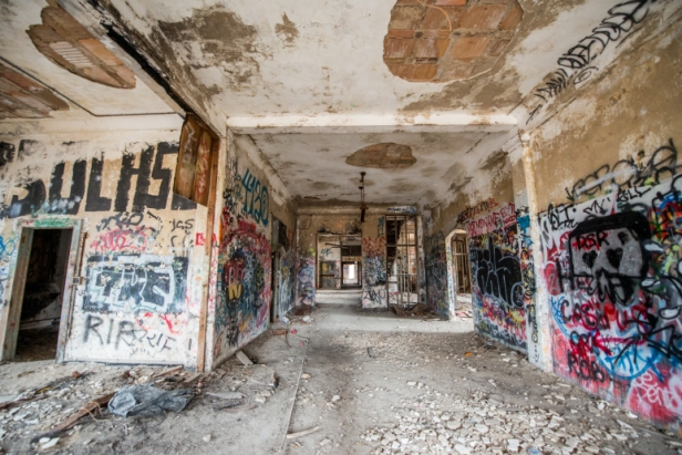 Image result for images of city urban decay